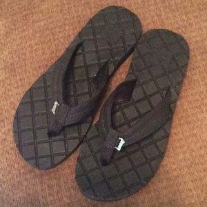 Reef flip flops, black